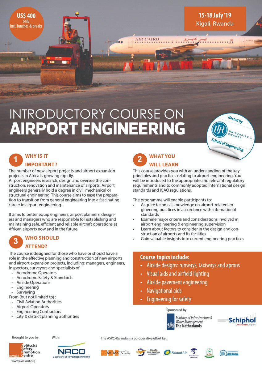 Heres a good one for your members @AfricanAirlines - flight support managers need this expertise and were bringing it right to your doorstep #ThursdayMotivation