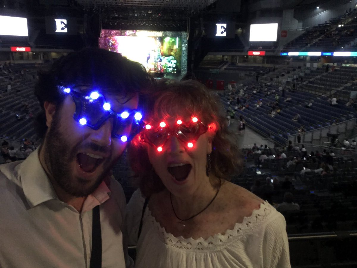 What an amazing show in Madrid Thank you for coming @eltonofficial #EltonFarewellTour