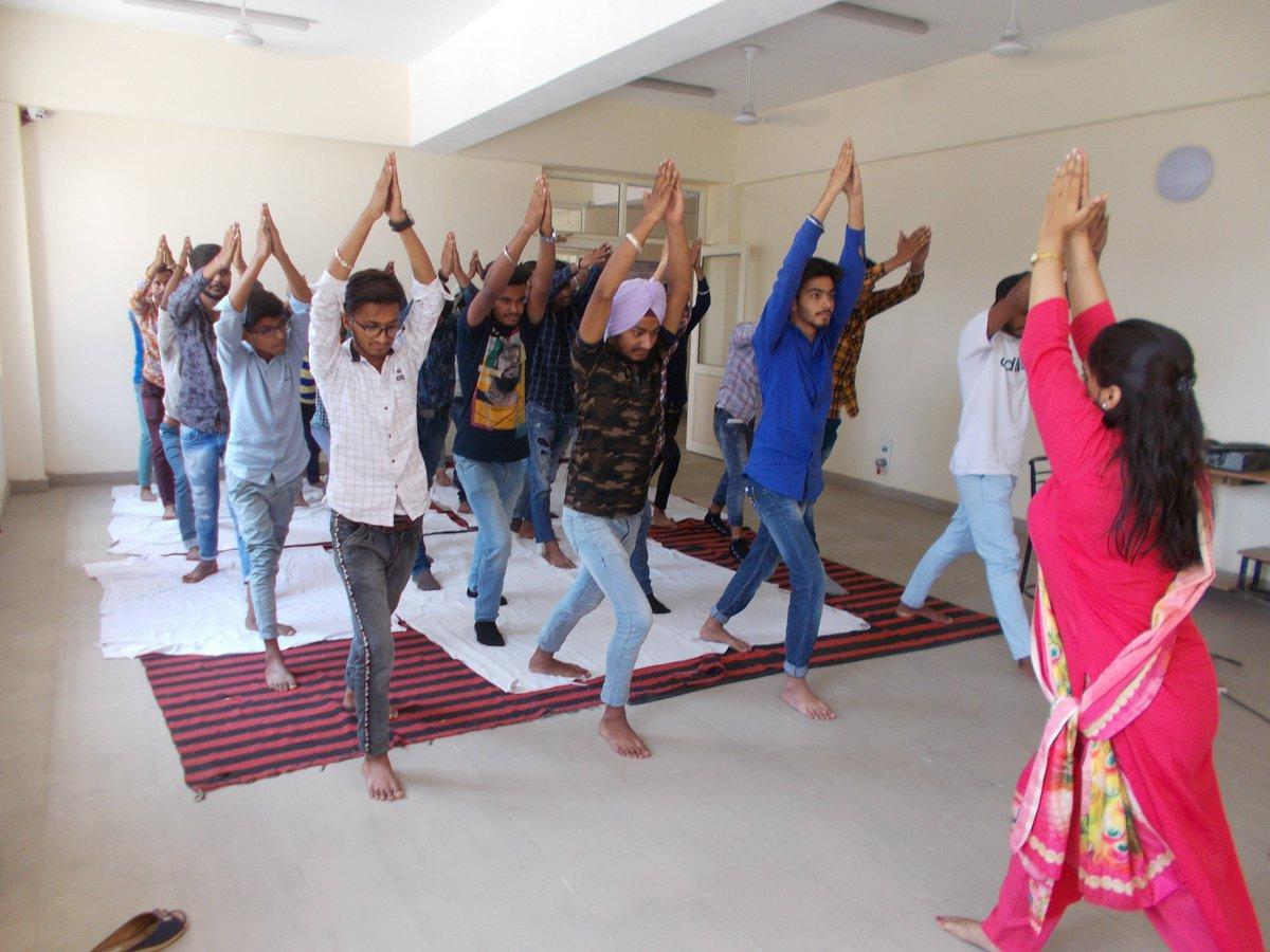 #MYMSME Celebrations of International Yoga Day on 21.06.2019 at CIHT Jalandhar https://t.co/Z95m576MIr