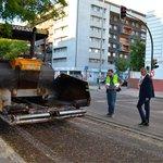 Image for the Tweet beginning: Iniciadas las obras de repavimentación