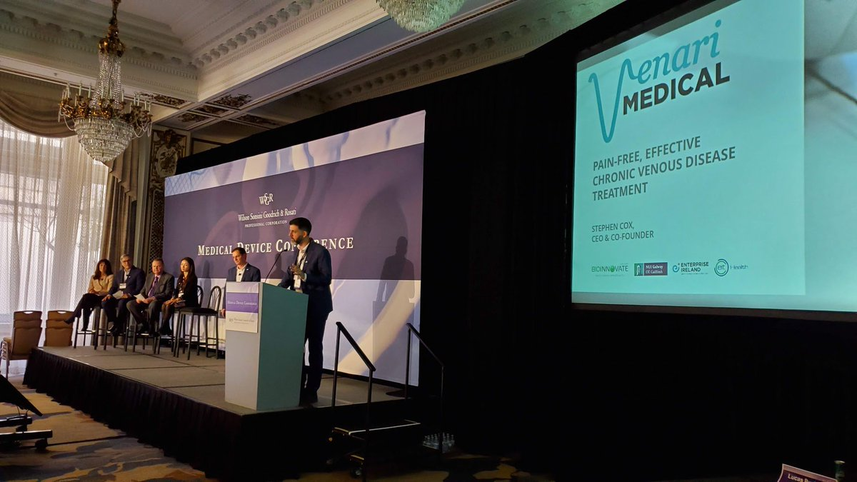 Great insight and interest  following our showcase pitches @wilsonsonsini #MDC2019 last week, such a good event in the #medtech ecosystem. Thanks to @lifesciencevc and all @MedTechAwards for the great contacts and support! #wsgr #healthcare<br>http://pic.twitter.com/C5RbJmGeld