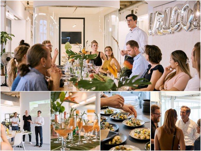 Bei Kitchen Stories #Berlin haben Colliers, Designfunktion und Vitra zum ersten Office Management Dinner eingeladen. Neben Vorträgen zur #Büro-Suche und #Workplaces der Zukunft wurde natürlich auch fürstlich gespeist und fleißig genetzwerkt. Vielen Dank für einen tollen Abend! t.co/8xppwte2NC