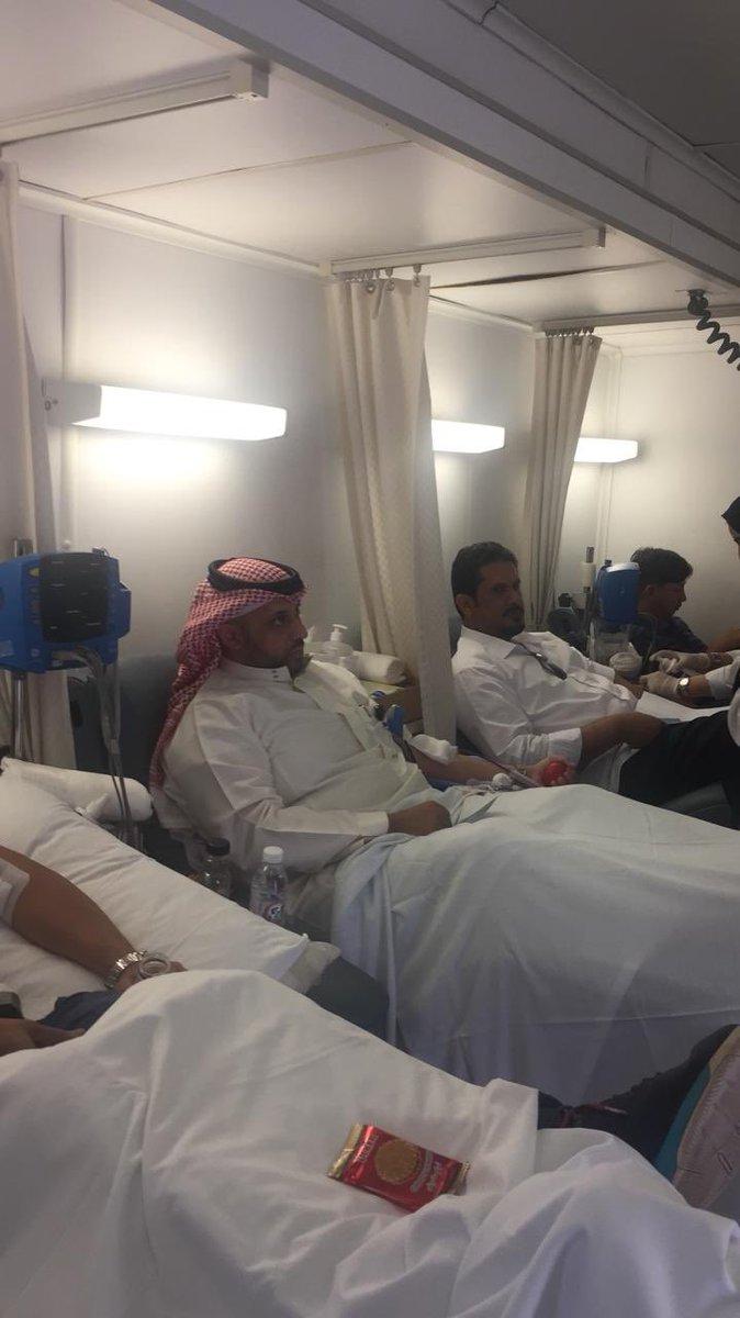 مدراء تنفيذيون وأطباء #مدينة_الملك_فهد_الطبية يبادرون للتبرع بـ #الدم خلال فعالية #اليوم_العالمي_للتبرع_بالدم     #لصحتك  #تبرع_KFMC