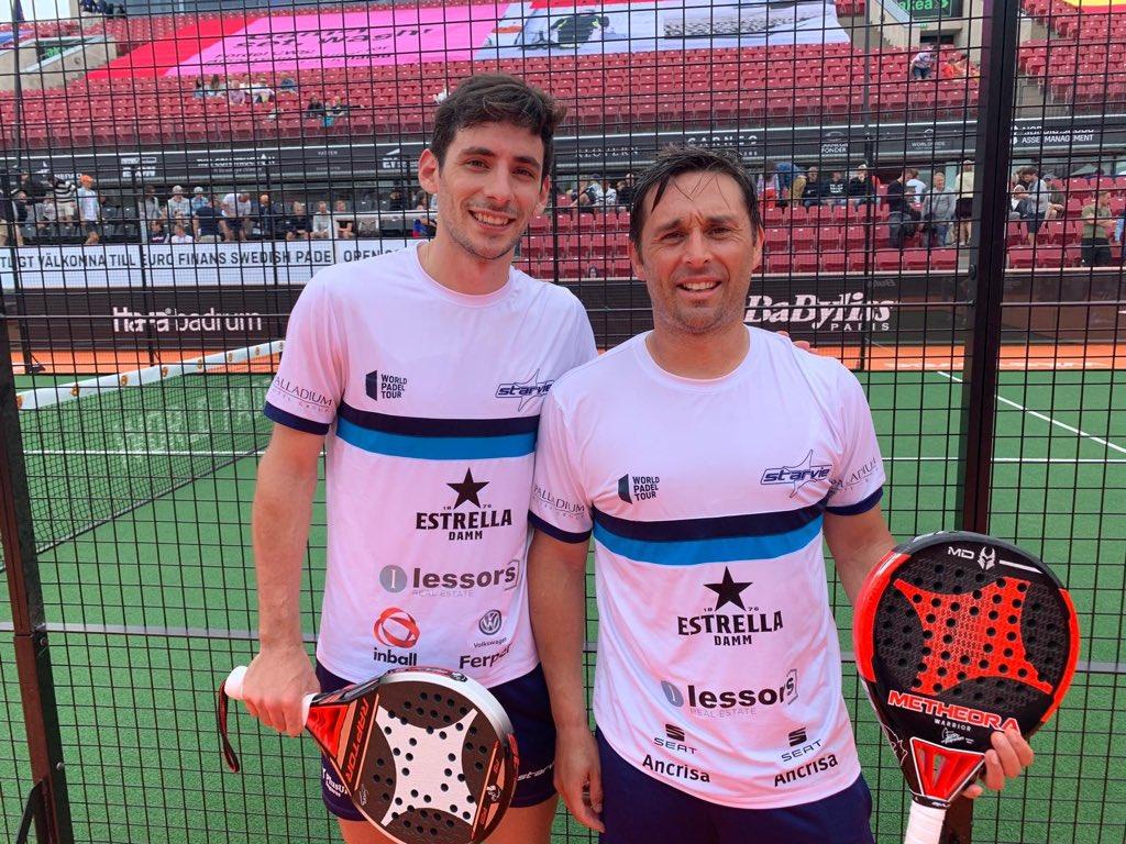 Franco Stupaczuk y Matías Díaz debutaron con victoria en Suecia