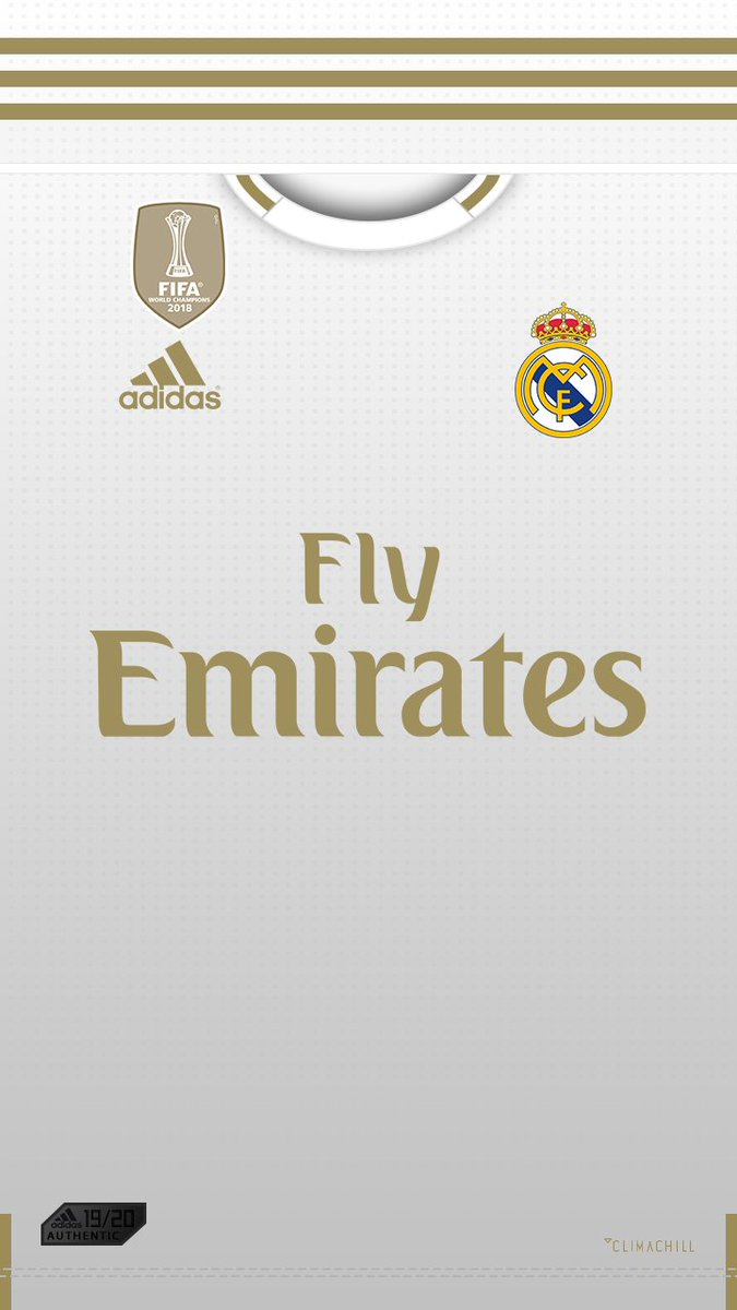 Fond D Ecran Ios Android Real Madrid Home Away 19 20