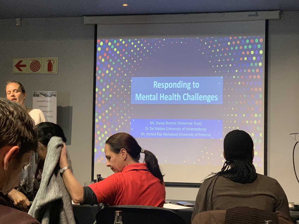 Last Stretch of the Supporting Students' Success Conference. Looking at Practical Tools for developing effective Mental Health Programs. #Africa #MentalHealthMatters #ThursdayThought #dmh #SSCSupports