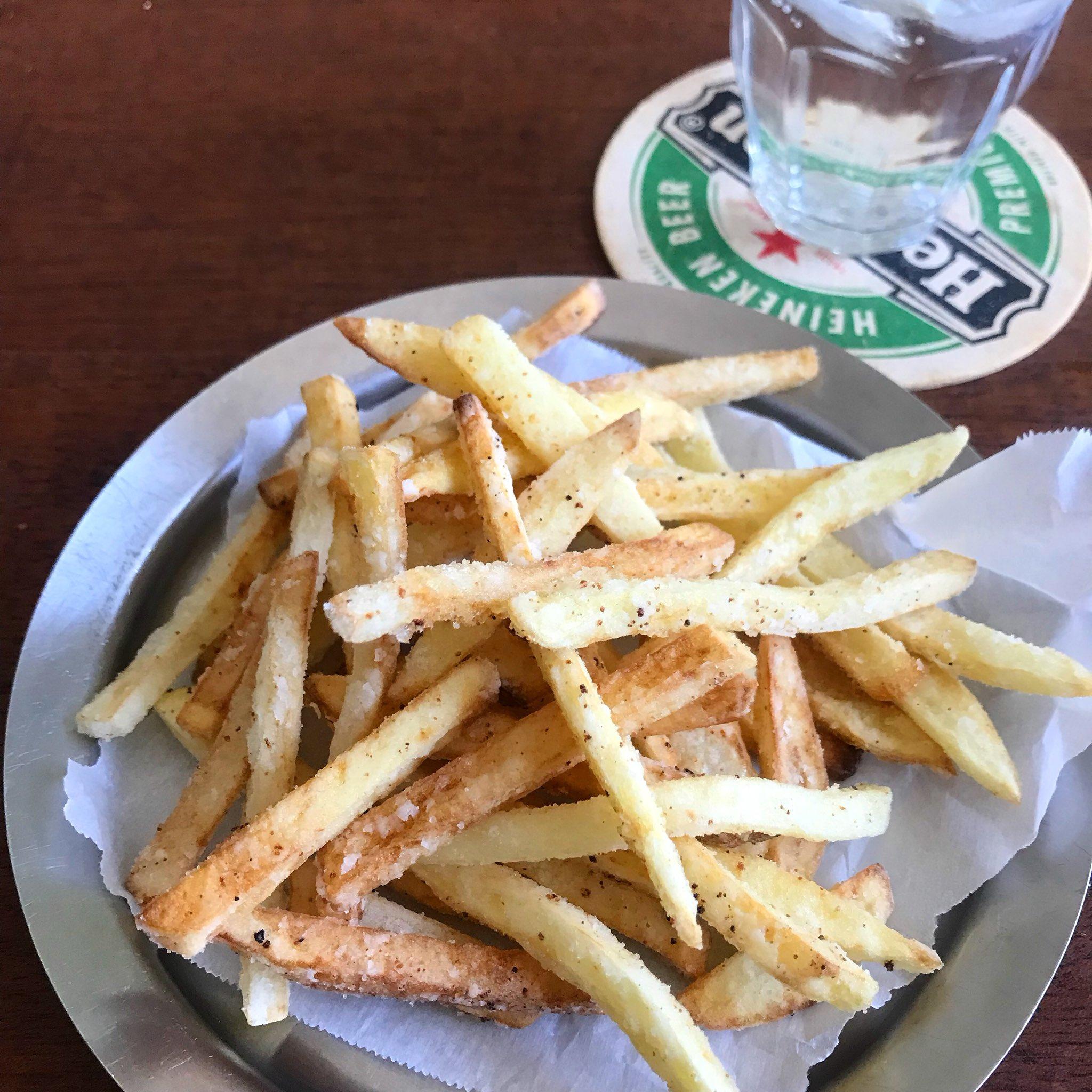 超簡単なのにサクサクなフライドポテトの作り方!!!レストランに出てくるやつ並みにおいしいwww