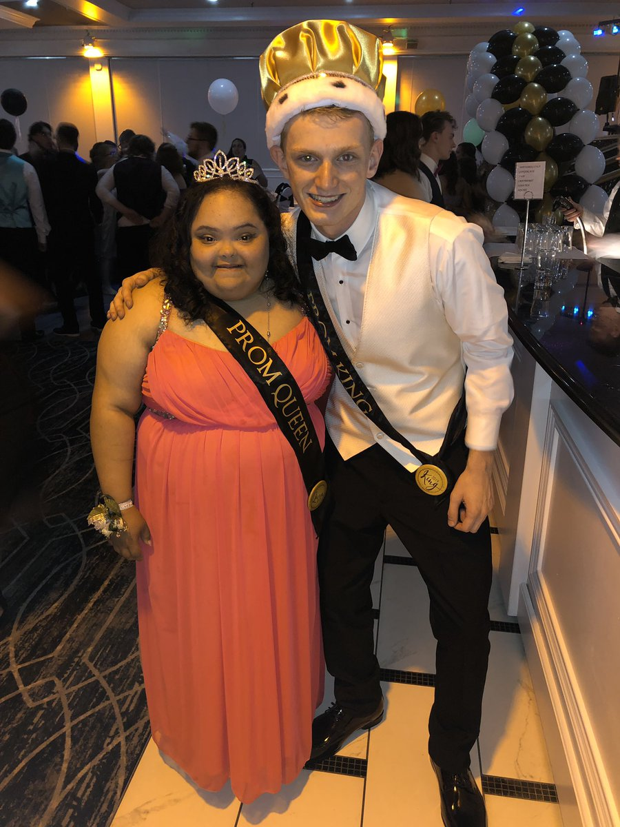 Yesterday was such a beautiful night for the Senior Prom. Congratulations to the 2019 Prom Court! This is an unforgettable class, I can't wait to watch you all walk across the graduation stage tomorrow! ♥️