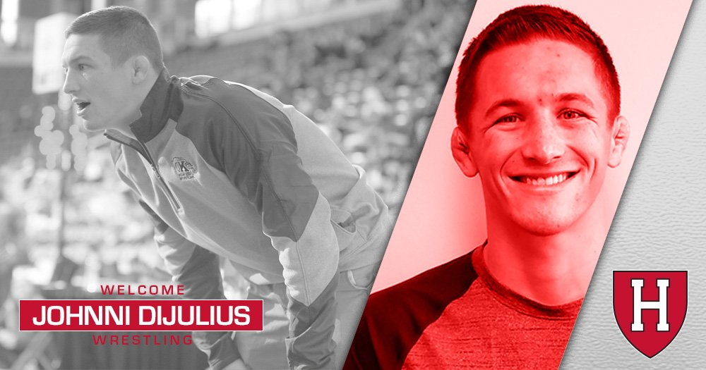 We are happy to announce that @johnnidijulius will join our staff as a volunteer assistant! Story: bit.ly/2NrwlC2 #GoCrimson