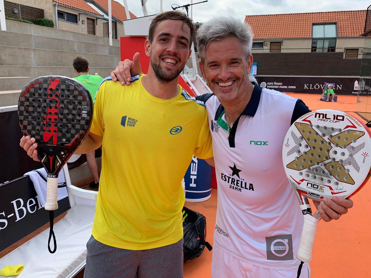 Lucho Capra y Miguel Lamperti siguen vivos en el Swedish Open