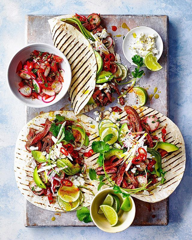 Steak Tostadas in this month's @tescofood mag. Food styling @bdarestifood Props @patmorejulie Art Direction @sarahgeorginaprescott2017 https://ift.tt/2FC5Bs9