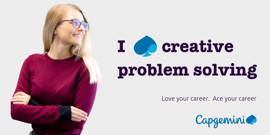 Capgemini creative problem solving