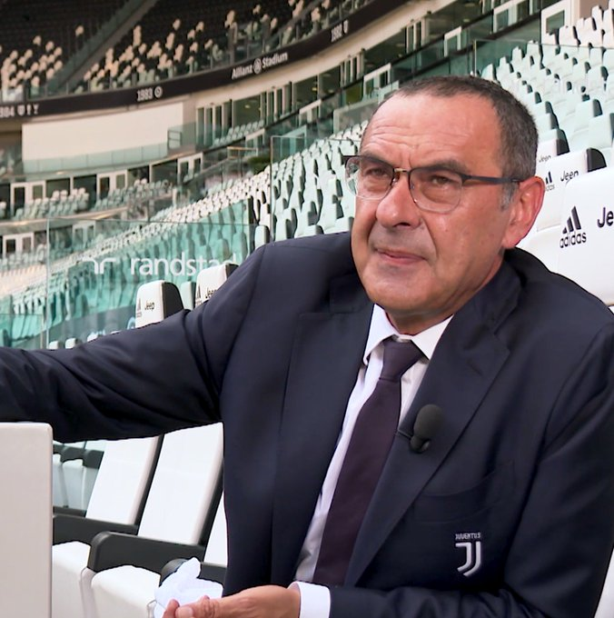 Embedded video video: you won't believe what juventus boss sarri said about premier league VIDEO: You won't believe what Juventus boss Sarri said about Premier League D EQ8CyXkAAXnqJ format jpg name small