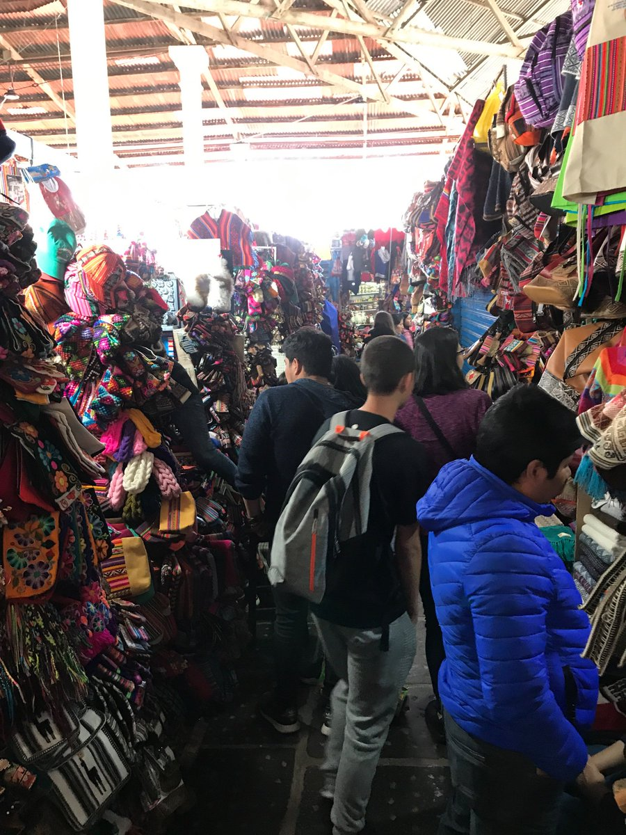@warriornews15 Cusco was amazing! Today we travel to the Sacred Valley. #perucrew