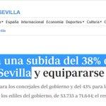 Image for the Tweet beginning:  🤑Espadas Cejas plantea subida d
