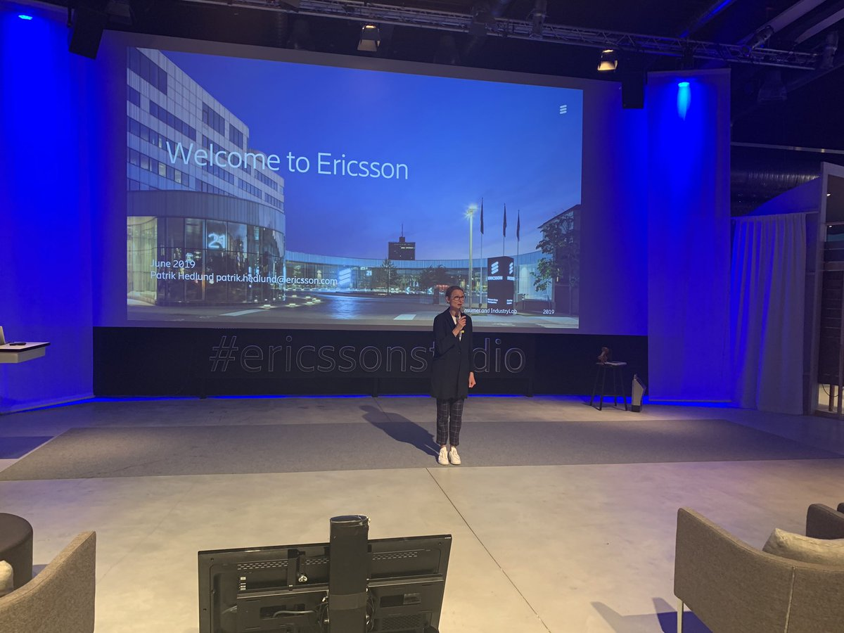 Gunilla Nordlöf welcoming  #SMEEnvoys to @EricssonStudio #EuropeWorksForSMEspic.twitter.com/5x8nOTrp3R