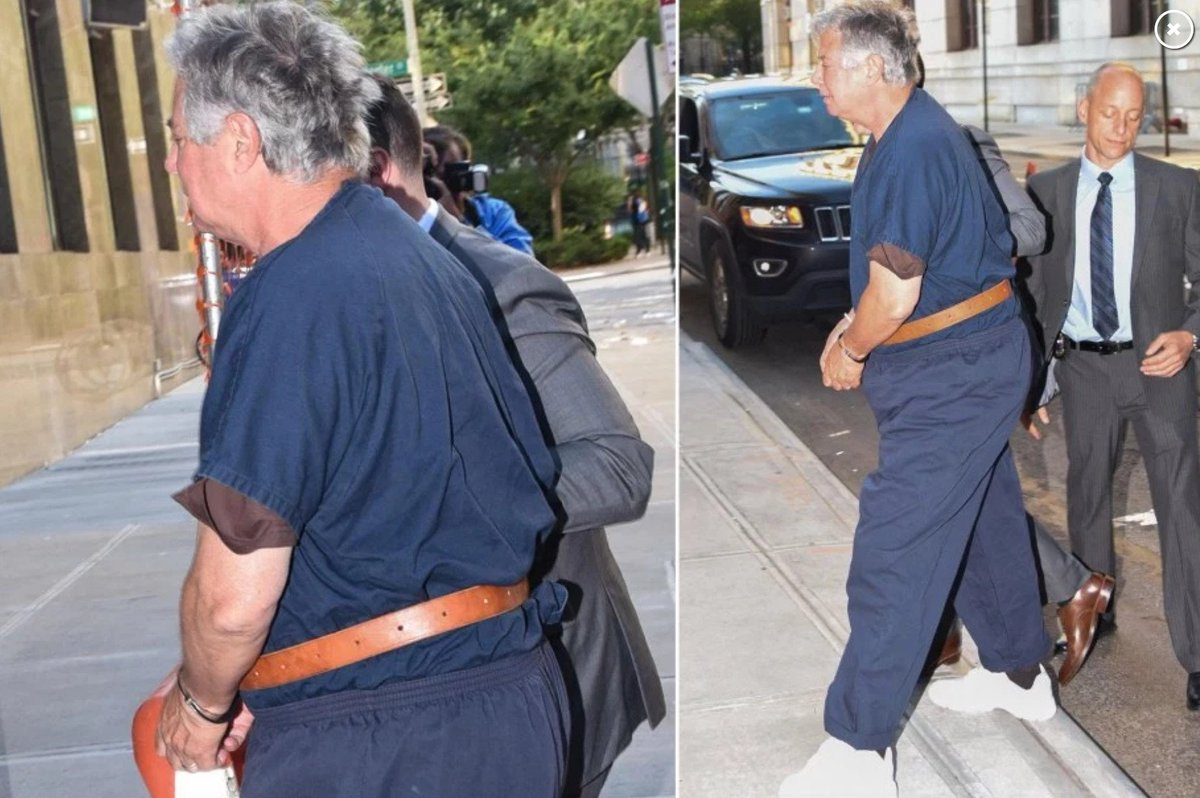 Just the chairman of the the presidents 2016 campaign making a perp walk, nothing to see here, carry on.