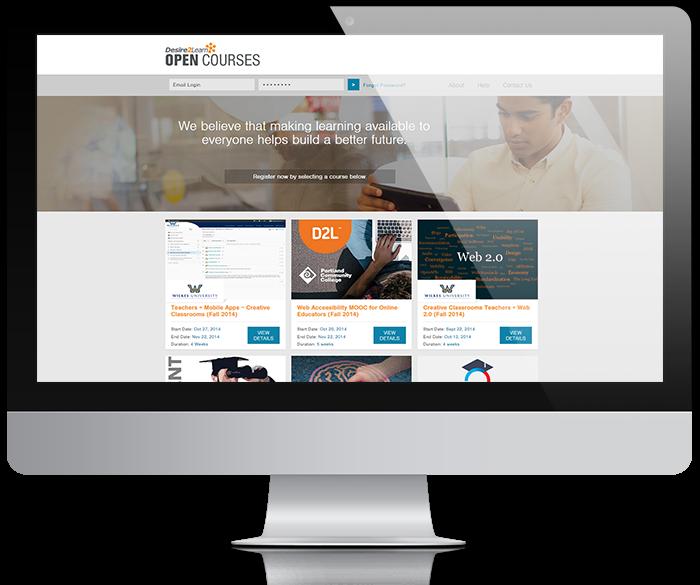 #BrightspaceOpenCourses fomenta el aprendizaje abierto, amplía el alcance de su institución, atrae a nuevos estudiantes y promociona su marca ofreciendo cursos abiertos masivos en línea. http://ow.ly/H6pe30p1bXQ