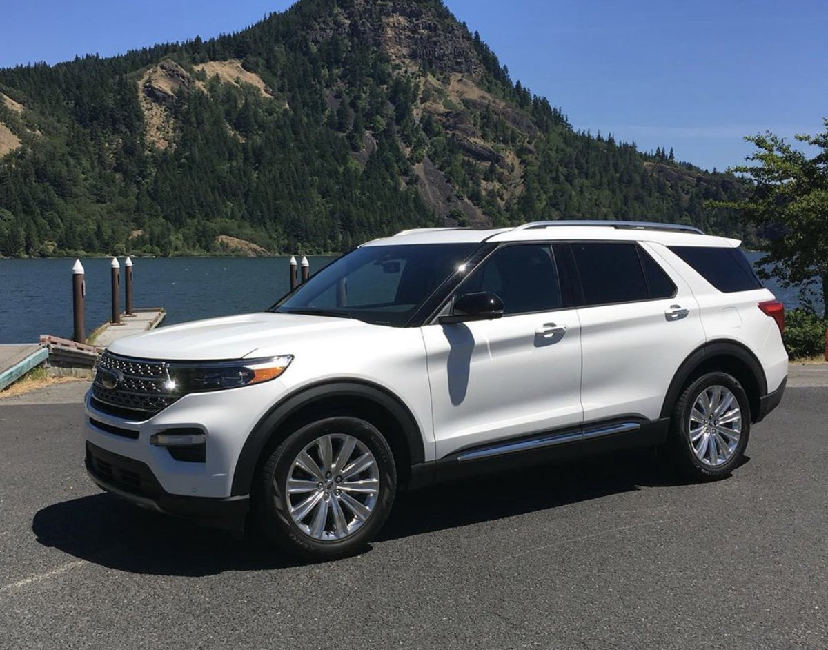 The redesign for the 2020 Explorer is looking sharp! 😍😎
