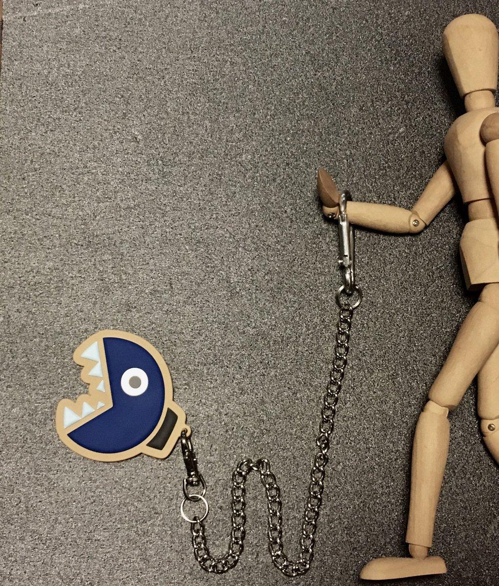test ツイッターメディア - 「ワンワン」のキーホルダー  100均の鎖 買って、 より、っぽい感じにしてみた  #ワンワン #マリオ #ダイソー https://t.co/QbLxJG5m7T