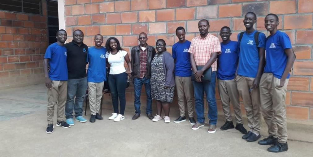 IPRC Kigali aviation club with #FAP members after meeting on this Wednesday