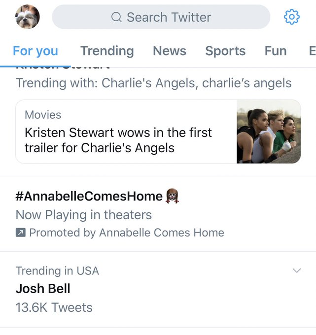 I deadass thought was trending bc Josh Peck wished Drake Bell a happy birthday on Instagram