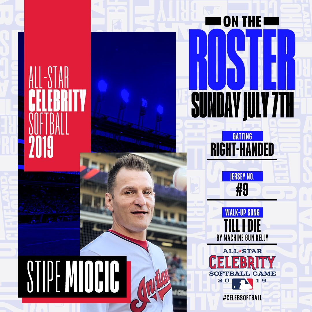 Super excited to be participating in this year's @MLB All-Star Celebrity Softball Game on @ESPN during All-Star Weekend in Cleveland! #SM #TheLand