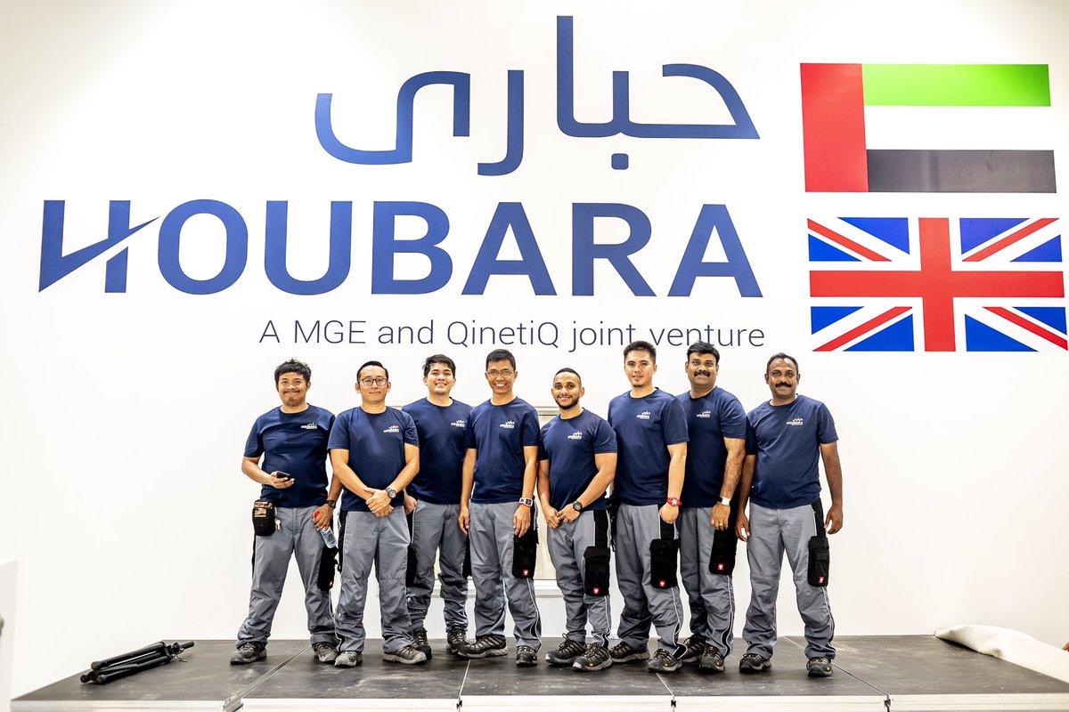 الامارات : شركة HOUBARA تستعد لتصنيع المركبات الجوية والبحرية محلياً والمساعدة في تصميم اهداف معدلة جديدة D-FFkBKXsAMw0OL