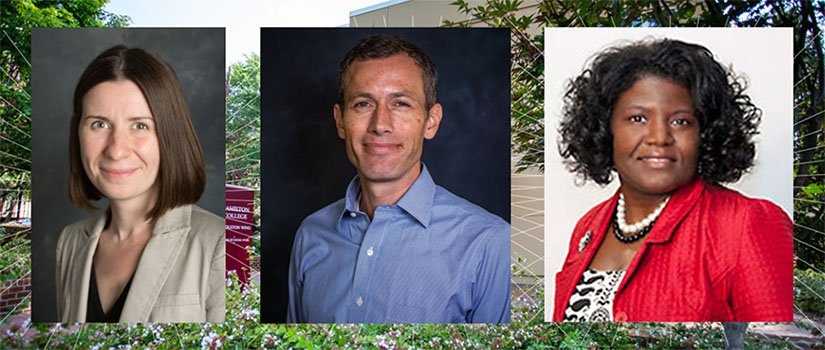 Congratulations to our newest associate professors: Christina Andrews, Ben Roth and Nikki Wooten. #UofSC #tenure