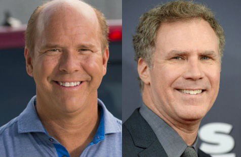 """Still can't believe Will Ferrell took his """"John Delaney"""" character all the way to the debate last night!"""