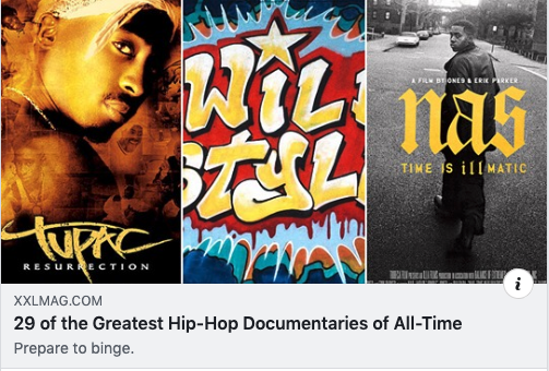 Shout out to Windsong executive producer @krausendahouse, Quincy Jones III, Flavor Unit Entertainment & @organizednoize on landing a spot as one of the 29 greatest hip-hop documentaries of all-time.   #FILM: The Art of Organized Noize | #TBT | @XXL