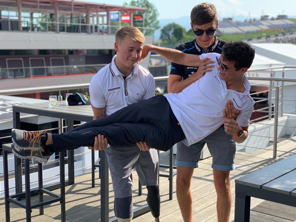 Formula 1 Drivers Shirtless