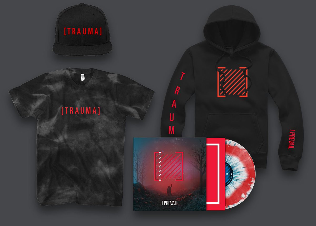 Can't wait to get more trauma merch made soon. What other items you guys looking for??