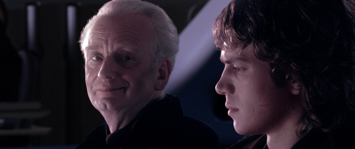 The Academy On Twitter What Story Is Emperor Palpatine Telling Anakin Skywalker In This Scene From Star Wars Episode Iii Revenge Of The Sith Https T Co Y9d2skwzxp