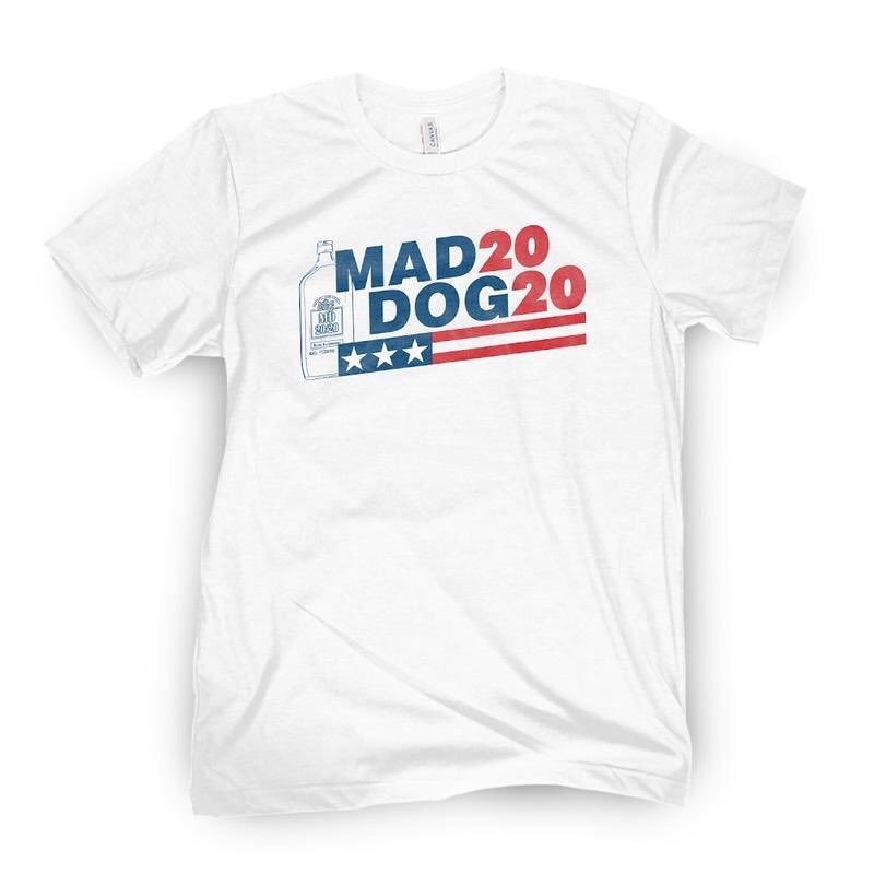 Must have shirt of the summer #MadDog2020 https://store.barstoolsports.com/products/pardon-my-take-mad-dog-tee …