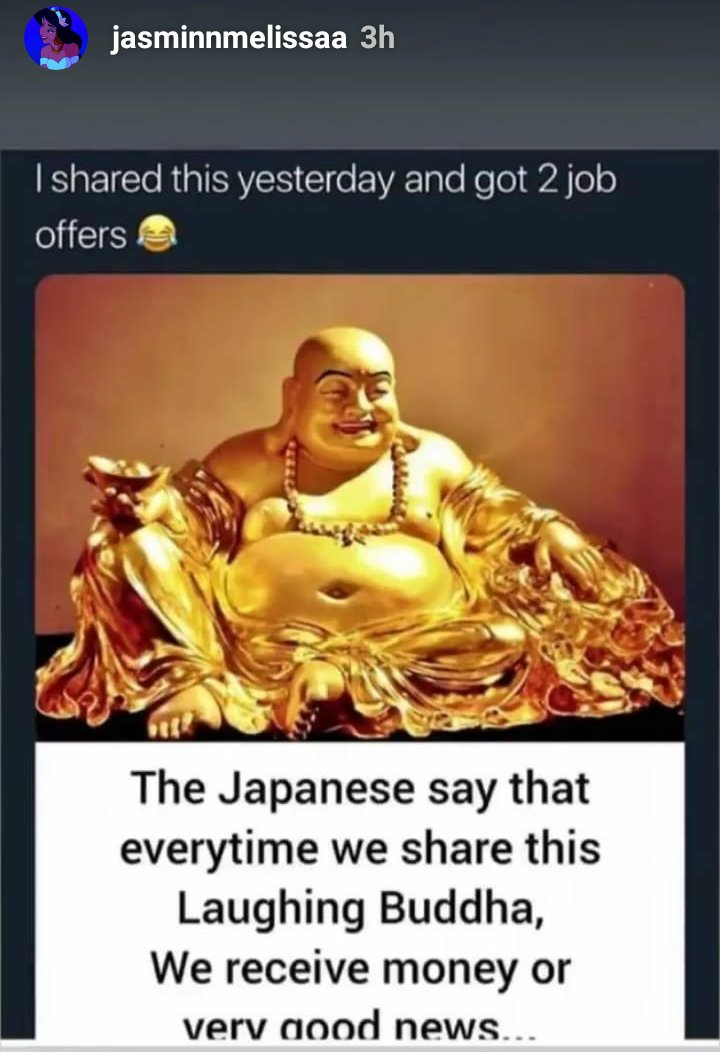 I posted this and i literally got a job plus 30 dollars from someone i haven't seen in so long