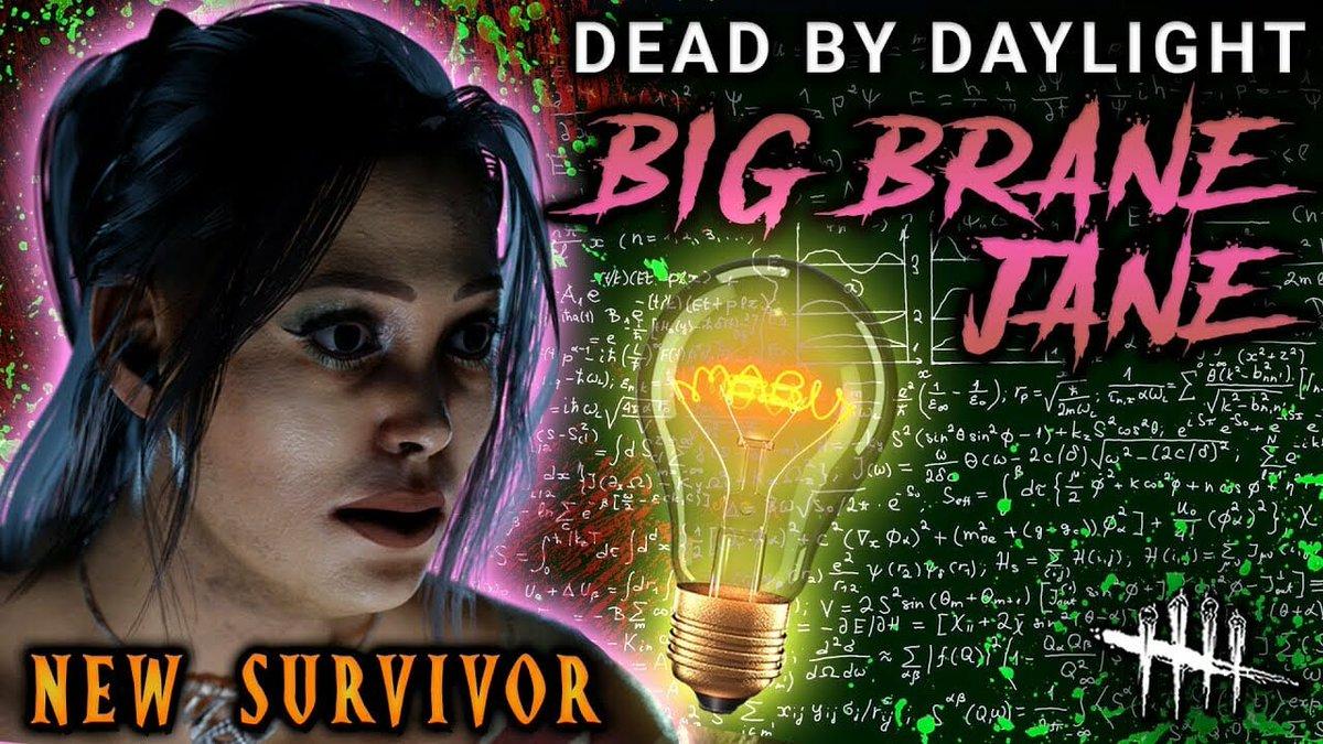 BIG BRANE JANE! Dead by Daylight [#302] Survivor with HybridPanda  Link:  #console #DBD #dbdgameplay #DeadByDaylight #funny #gameplays #guide #howto #hybridpandadbd #JaneRomero #montage #Monto #newchapter #newpatchdbd #newperks #NewSurvivor