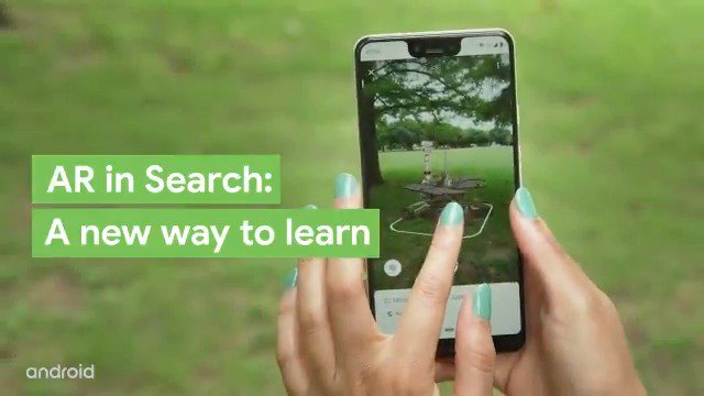 You've got to see it to believe it. AR in Search on #Android is a new way to understand the world around you. Director of AR experiences Jennifer Liu explains.