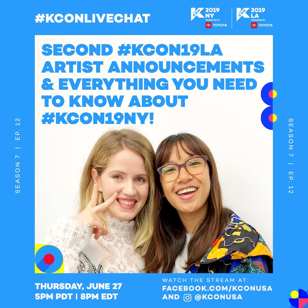 kconlivechat hashtag on Twitter