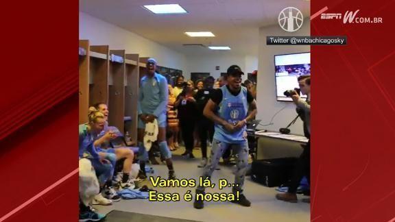 Mundo Espn On Twitter Chance The Rapper Invade Vestiário
