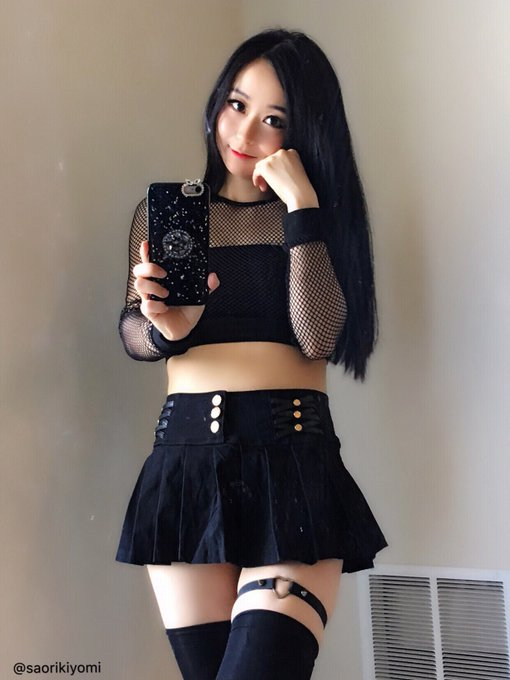 コスプレイヤー沙織(Saori Kiyomi)のTwitter自撮りエロ画像44