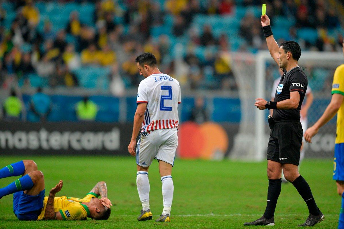 КА. Бразилия - Парагвай 0:0 (пен. 4:3). Фаворит со скрипом вышел в полуфинал - изображение 1