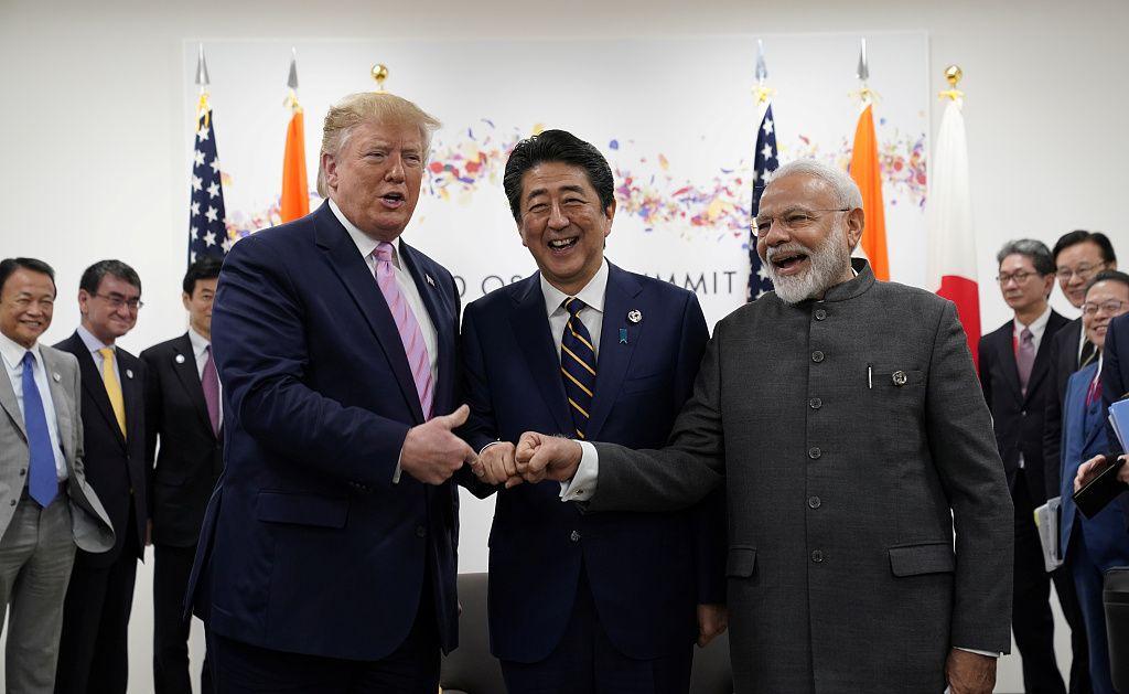 日米印首脳会談 モディ首相 サミット トランプ インド太平洋に関連した画像-05