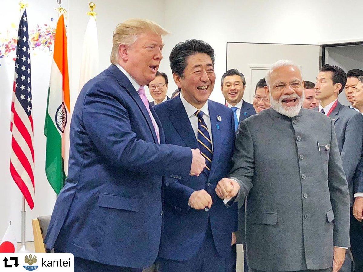 日米印首脳会談 モディ首相 サミット トランプ インド太平洋に関連した画像-02