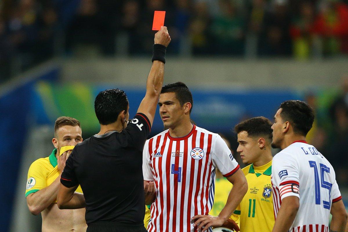 КА. Бразилия - Парагвай 0:0 (пен. 4:3). Фаворит со скрипом вышел в полуфинал - изображение 3