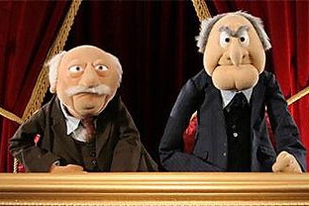 Image result for biden sanders grumpy old men