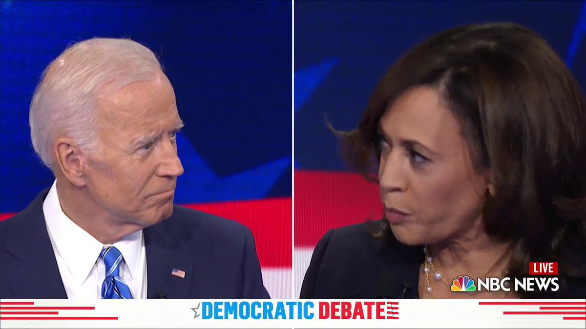 Kamala Harris Tears Into Joe Biden On Segregation, Busing At Democratic Debate