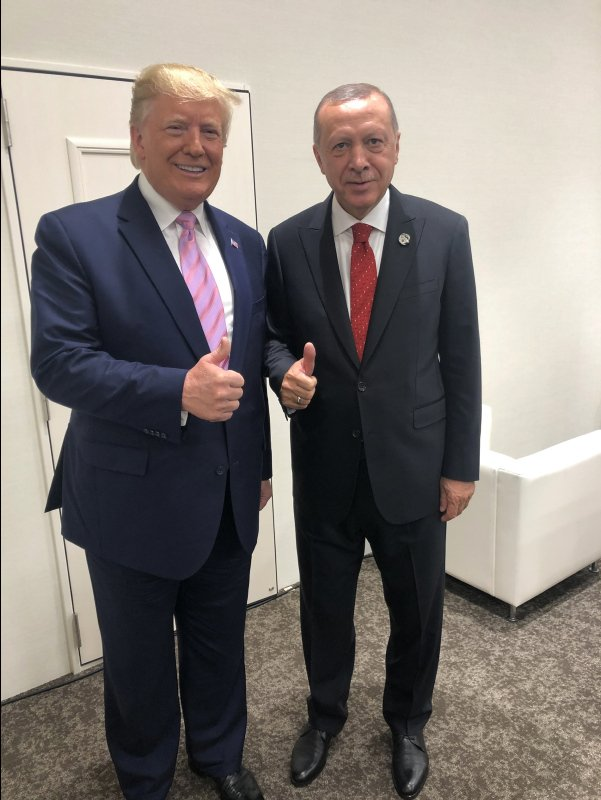 أردوغان يلجأ لترامب شخصيًّا بخصوص منظومات S-400 الروسيه ومقاتلات F-35 الامريكيه  D-H_eYhUYAUhDOg