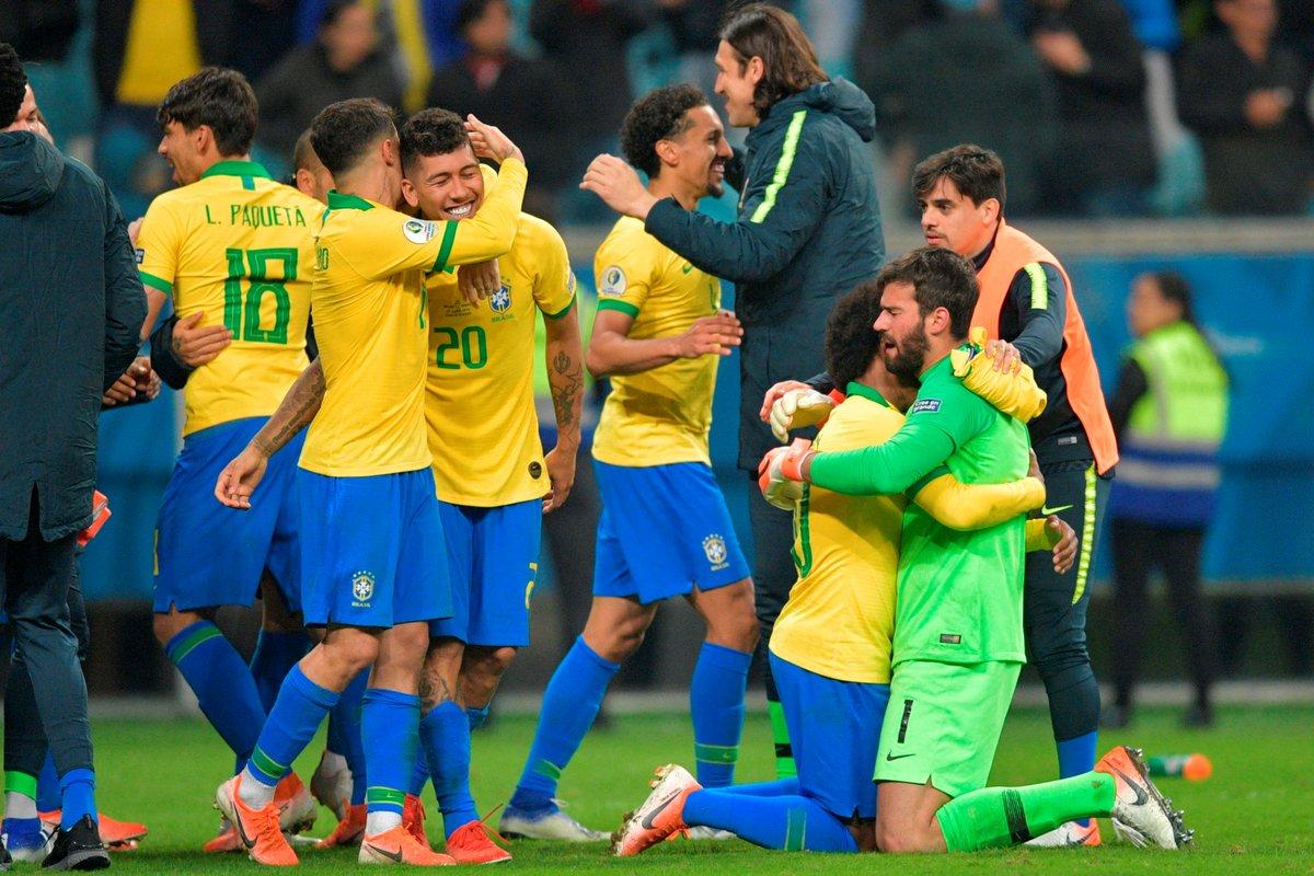 КА. Бразилия - Парагвай 0:0 (пен. 4:3). Фаворит со скрипом вышел в полуфинал - изображение 7