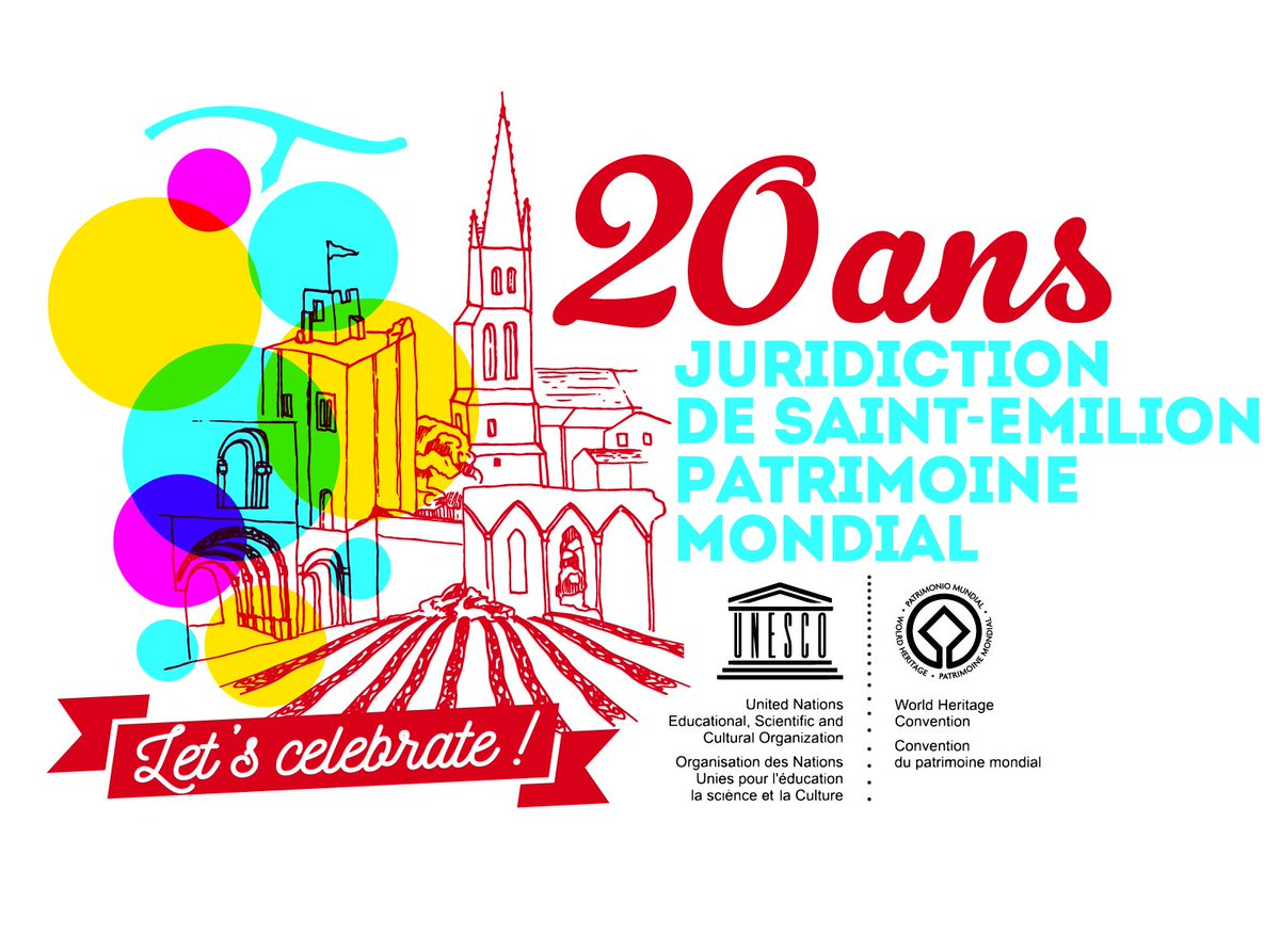 For 3 days we will celebrate the 20 years UNESCO of Jurisdiction of Saint-Émilion at Château Fombrauge. We look forward to welcoming you to this exceptional #party !  #StEmilionFeteleVin #StEmilion #Fombrauge #Bordeaux https://t.co/1LIncoJn7x